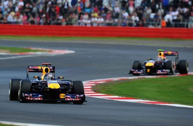 Red Bull curva