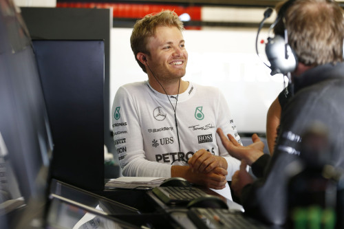 Nico Rosberg voltou a sorrir (foto Mercedes)
