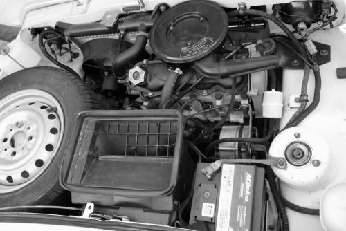fiat 147 cofre do motor pneu 145 13