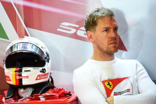 Sebastian Vettel está cada verz mais tranquilo como primeiro piloto da Ferrari (foto Studio Colombo/Ferrari Media)