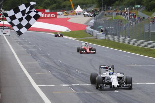 Massa fez outra boa exibição e resistiu aos ataques de Vettel (Foto Glenn Dunbar/Williams)