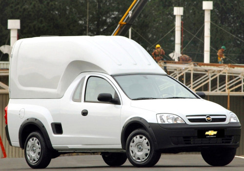 Chevrolet Montana Combo 2008. X08CT_MN006BR  (Brasil)