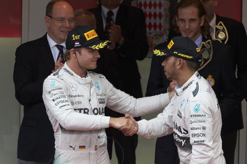 Resultado do GP de Mônaco ainda não foi completamente digerido pelos dois principais candidatos ao título de 2015 (foto Mercedes-Benz)