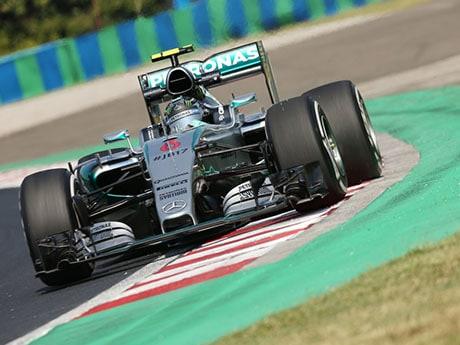 Nico Rosberg conheceu o céu, o paraíso e o inferno na mesma corrida (foto Mercedes)