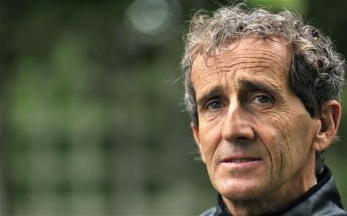 Alain Prost diz que FIA não contou tudo (foto Renault)