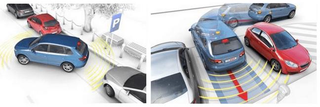 Bosch Sistema Assistente de Estacionamento 3