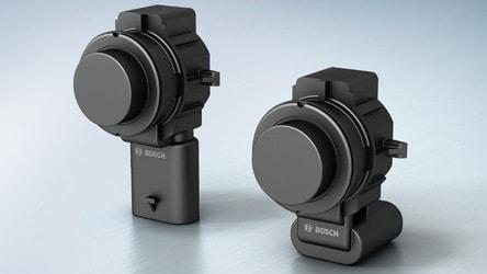 Sensores ultrassônicos usados no Renegade