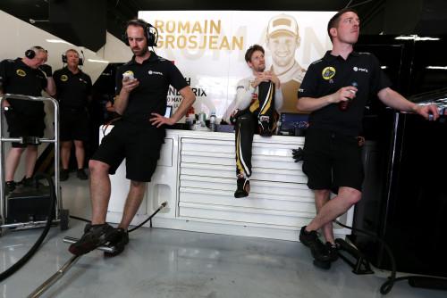 Lotus vive dias de apreensão (foto Lotus F-1 Team)