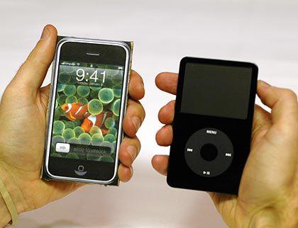 O iPhone não é um substituto de alta qualidade para o iPod (fonte: kottke.org)