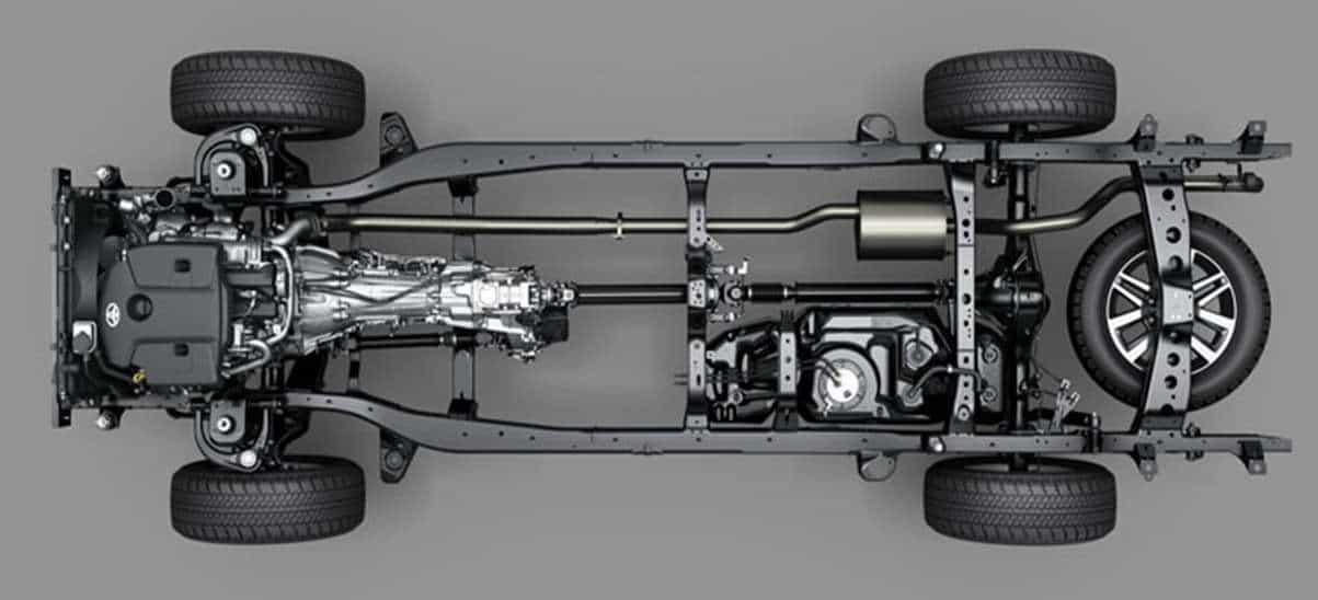 Tudo novo e chassis mais resistente
