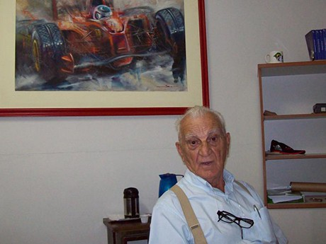 Professor Rubens AntIonio Carpinelli, 1923-2015 (foto Nobres do Grid)
