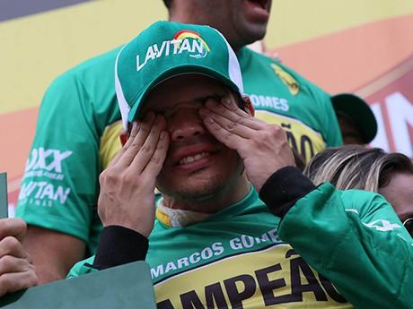 Marcos Gomes: 30 anos, 8 temporadas, primeiro título e muita emoção (Foto T4F/Fernanda Freixos)