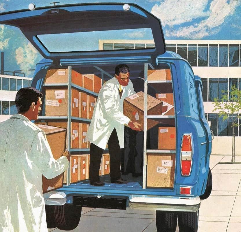 A Kombi Da Ford Motor Company Por Carlos Meccia Autoentusiastas