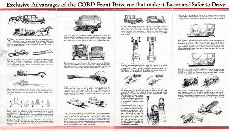 1932 Cord Folder (rear)