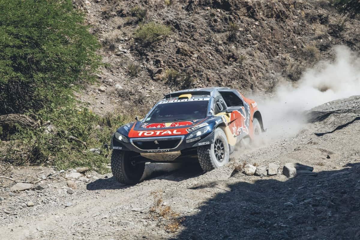 Stephane Peterhansel é o novo líder do Dakar (Foto Red Bull)