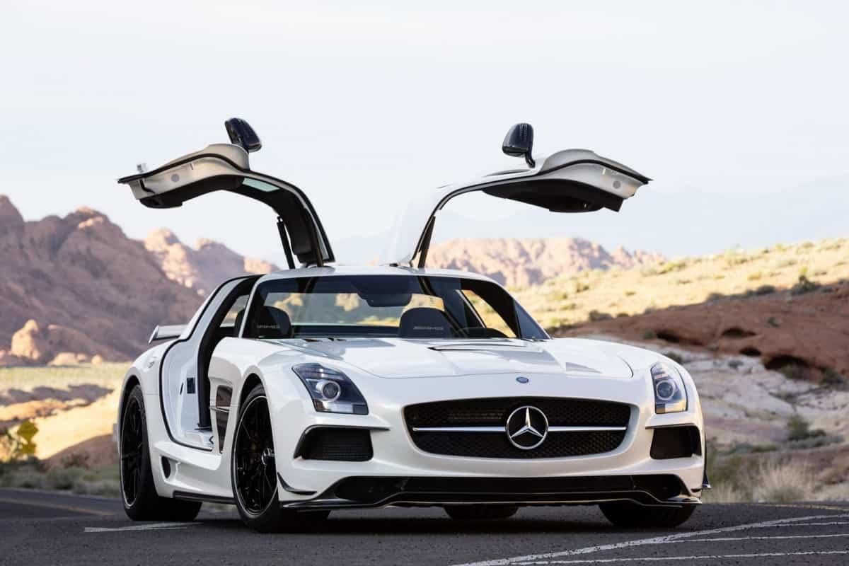 Foto Legenda 05 coluna 03169 - Mercedes SLS AMG
