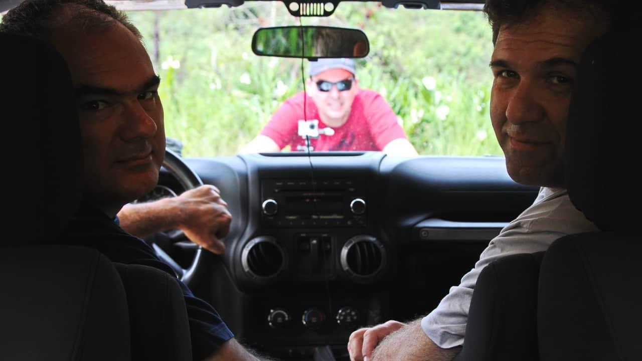 Juvenal Jorge, Marco Antônio Oliveira e Luis Fernando Carqueijo