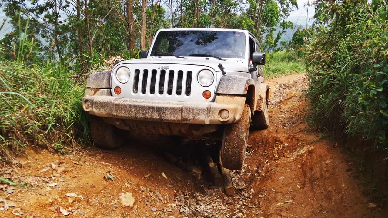 O Jeep foi feito para isso...