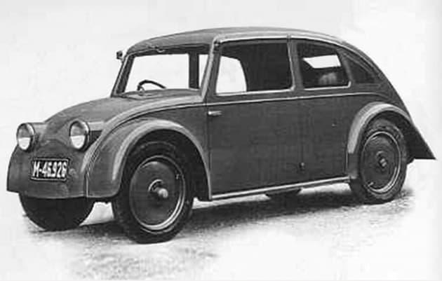 V570 protótipo com desenho de Paul Jaray (foto Tatra)