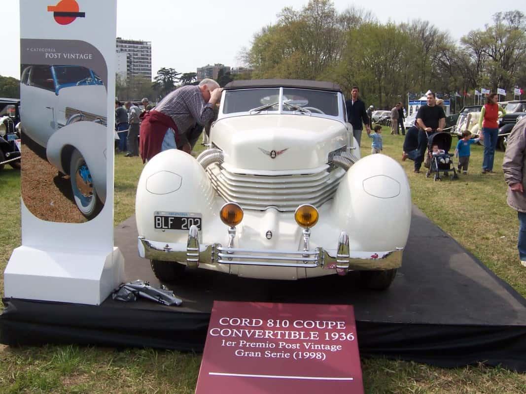 Cord 801, o carro do agente Leiter