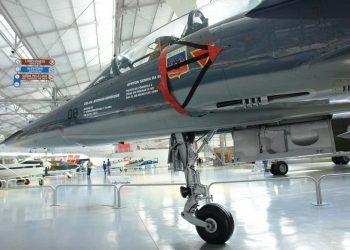 Mirage III DBR em que voou Ayrton Senna (autor)