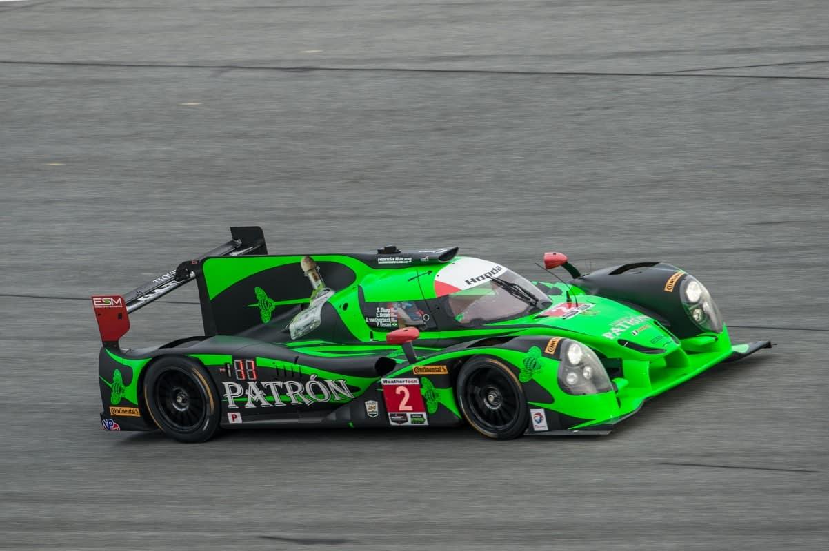 A Ligier domina a categoria mais popular do Endurance, a LMP2. Aqui o carro de Pipo Derani, vencedor em Daytona (Foto de José Mário Dias)