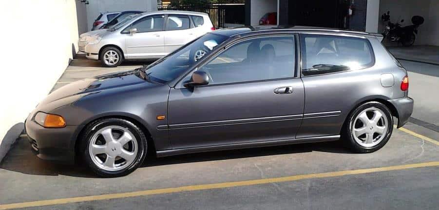Honda Civic Vti 1995  U2013 Por J U00dalio C U00c9sar Quartarolo