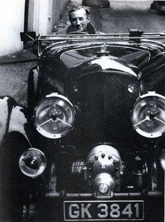 Ian Fleming e Blower Bentley (literary007.com)