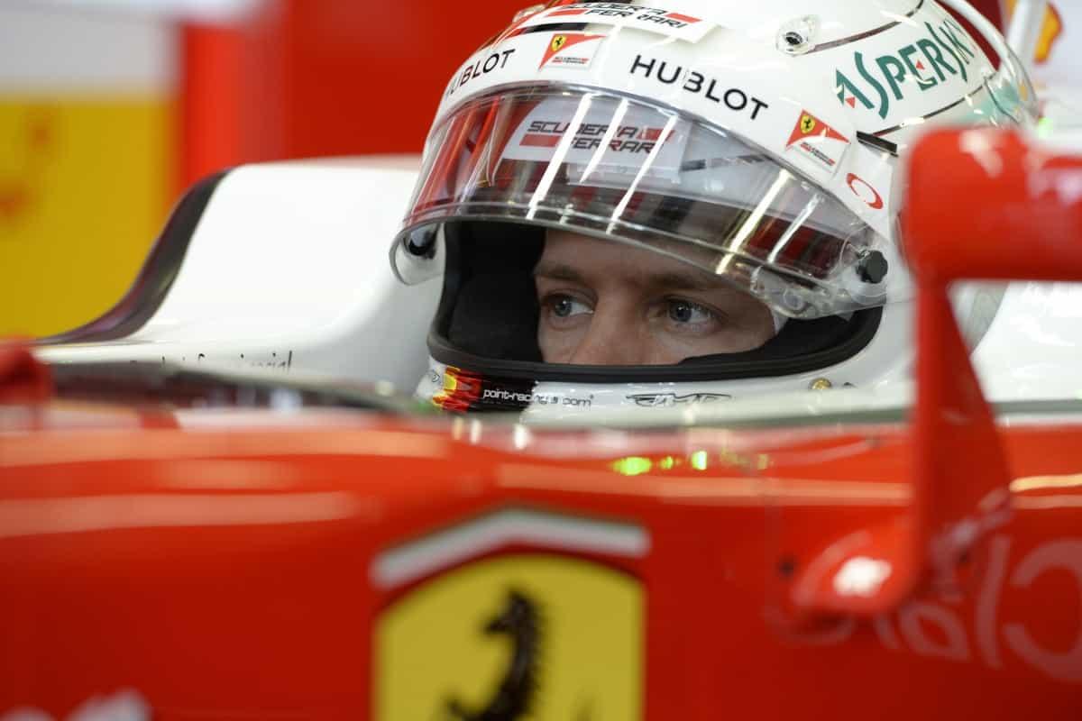 Vettell e a Ferrari sentem a pressão de Marchionne e da imprensa italiana (FOto Ferrari)