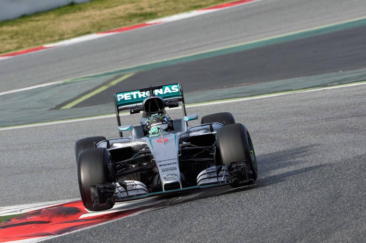Rosberg mostrou dedicação e ritmo, Será que dura o ano inteiro? (foto Mercedes)
