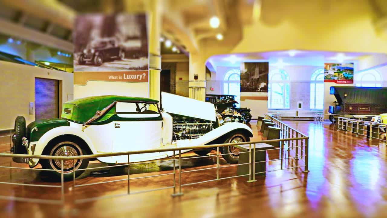O Royale no museu Henry Ford, em Dearborn (Paulo Keller)
