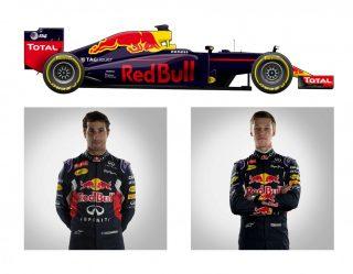 O Red Bull RB12-TAG Heuer de Daniel Ricciardo e Daniil Kyat (F-1.Com)