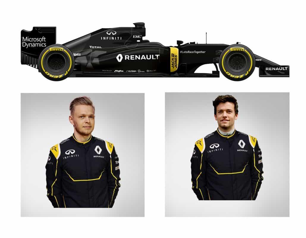 O Renault R.S.16 de Kevin Magnussen e Jolyon Palmer (F-1.Com)