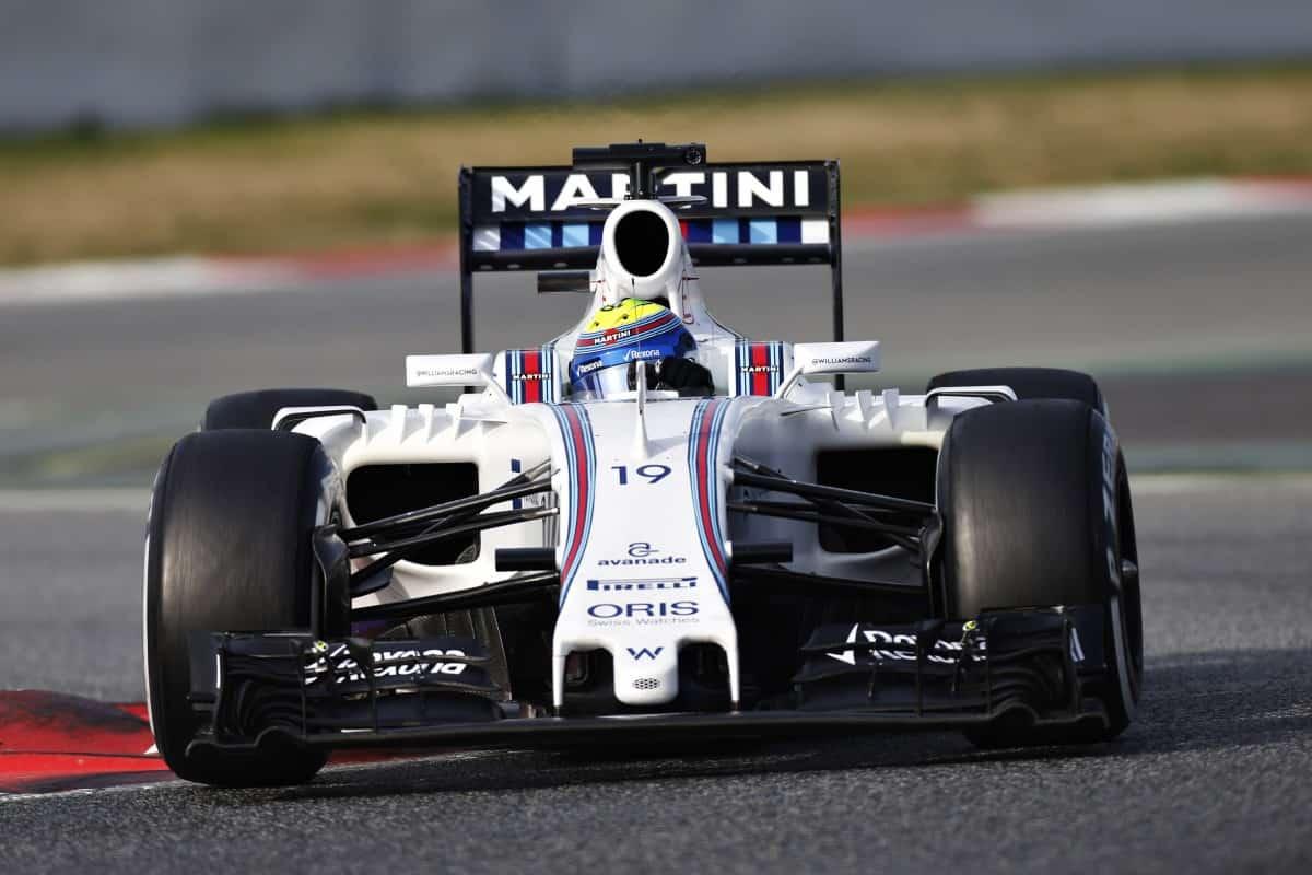 Massa não conseguiu andar com pneus super macios (foto Williams)