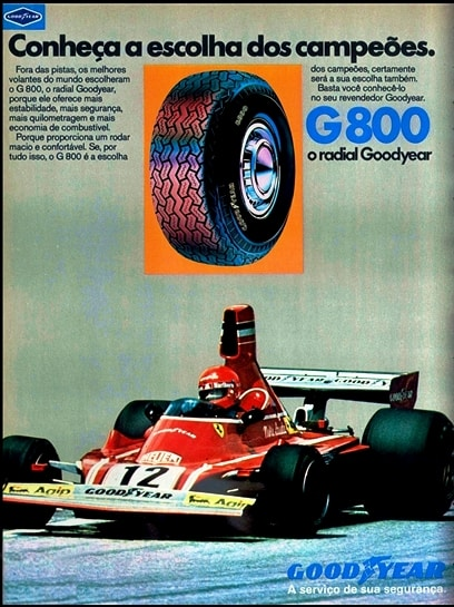 anuncio pneus Good Year - 1976