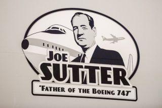 Cargolux 747-8F Delivery Honors Joe Sutter K66295-03