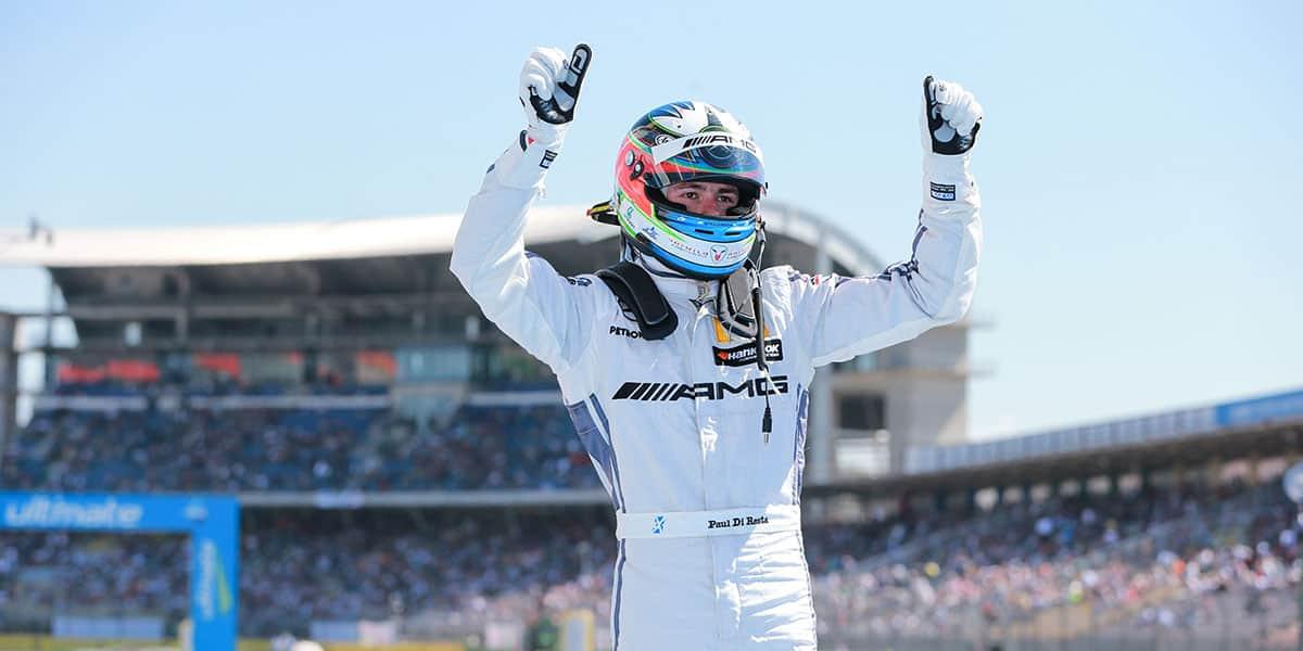 Paul DI Resta lidera na DTM (Foto Mercedes)