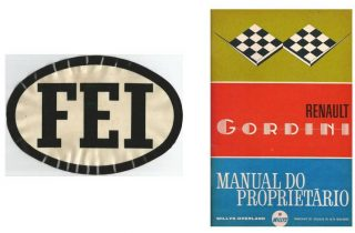 FEI e manual proprietario  MEU GORDINI FEI e manual proprietario