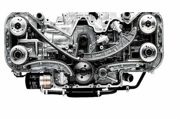 Foto Legenda 03 coluna 2116 - Motor boxer Subaru