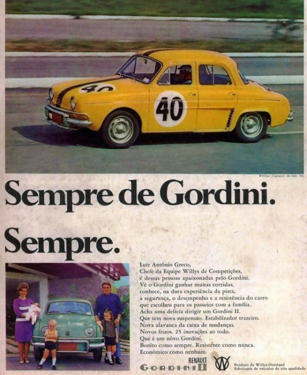 Propaganda-Renault-Gordini-Semore-de-Gordini.-Sempre-Ed.-72-4R-1966