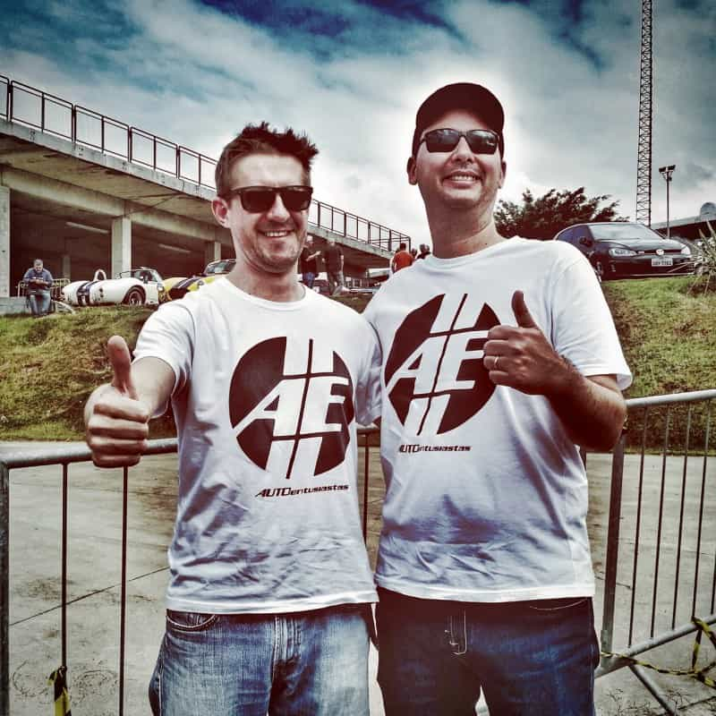Equipe AE-BMW: o Érico e eu