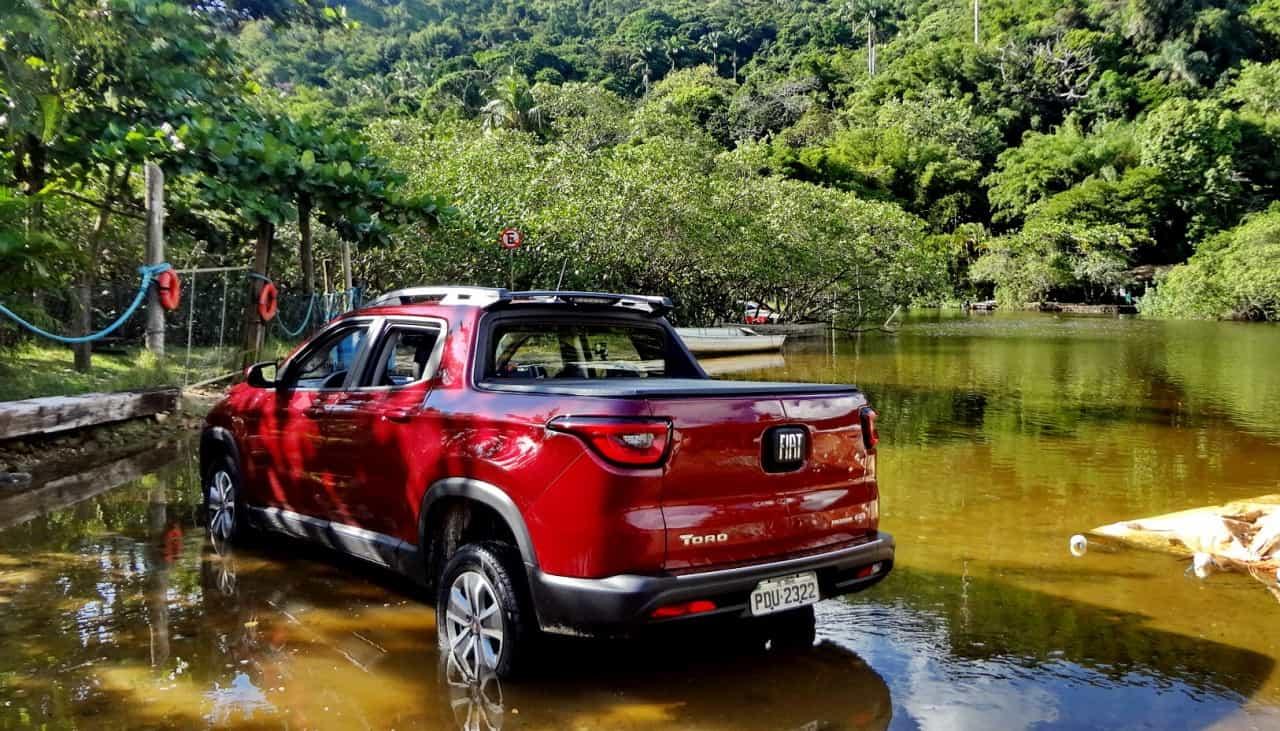 Na Toro flex os pneus não são de uso misto, são para asfalto, o que é bom