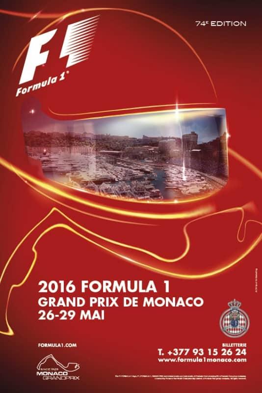 Ano após ano Mônaco mantém a tradição de criar cartazes icónicos sobre uma corrida única (Foto ACM)