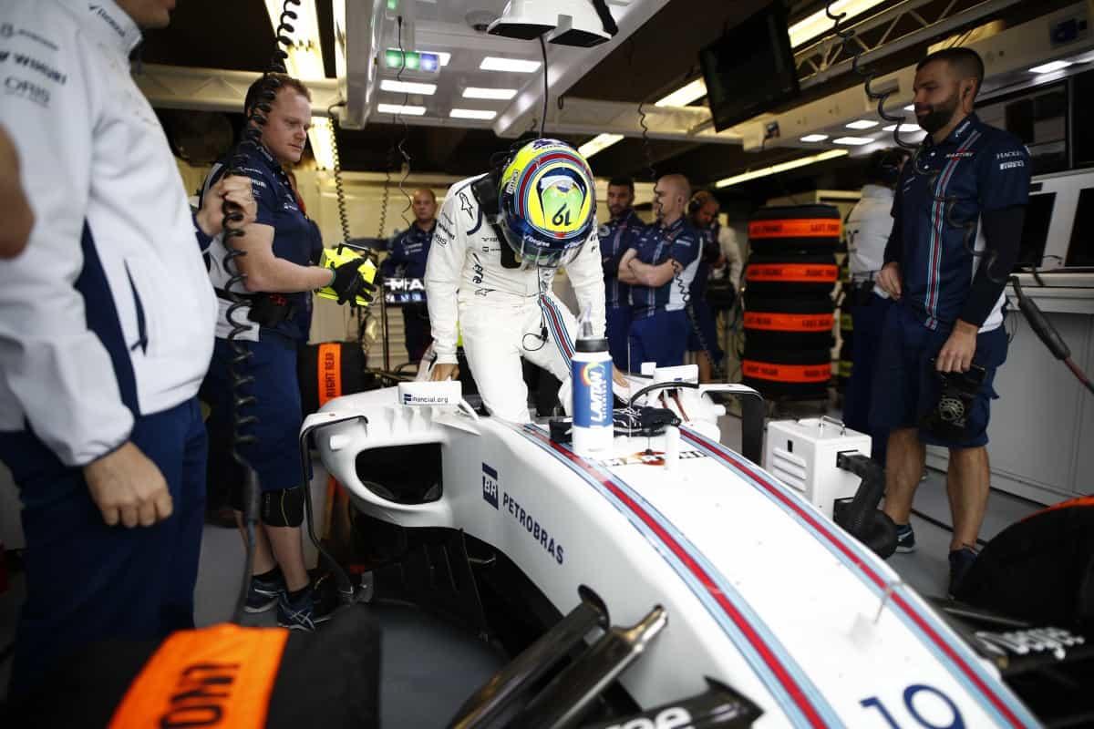 Abandono mal explicado de Felipe Massa pode se tornar o símbolo do seu detino para 2017 (Foto Williams/LAT)