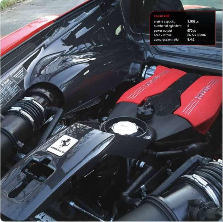 Foto Legenda 04 coluna 2316 - Ferrari 3,9 dois turbos motor do ano