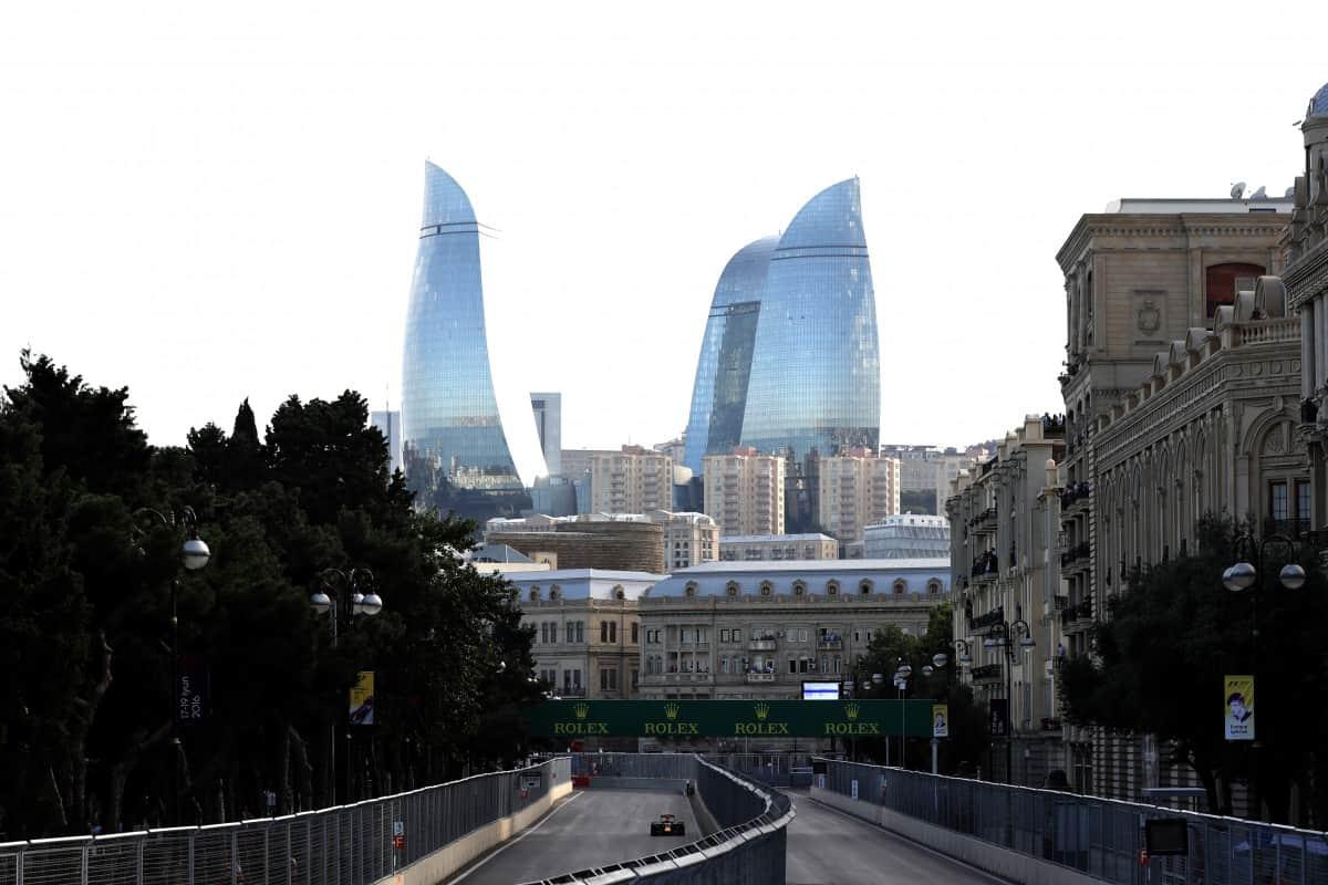 O GP da Europa, em Baku, no Azerbaijão, pode marcar uma nova era de circuitos de rua na F-1 (Foto Reb Bull/Getty Images)
