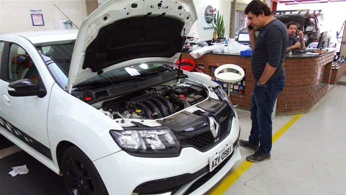 RS4 4  RENAULT SANDERO R.S. - 4ª SEMANA, FINAL (COM VÍDEO) RS4 4