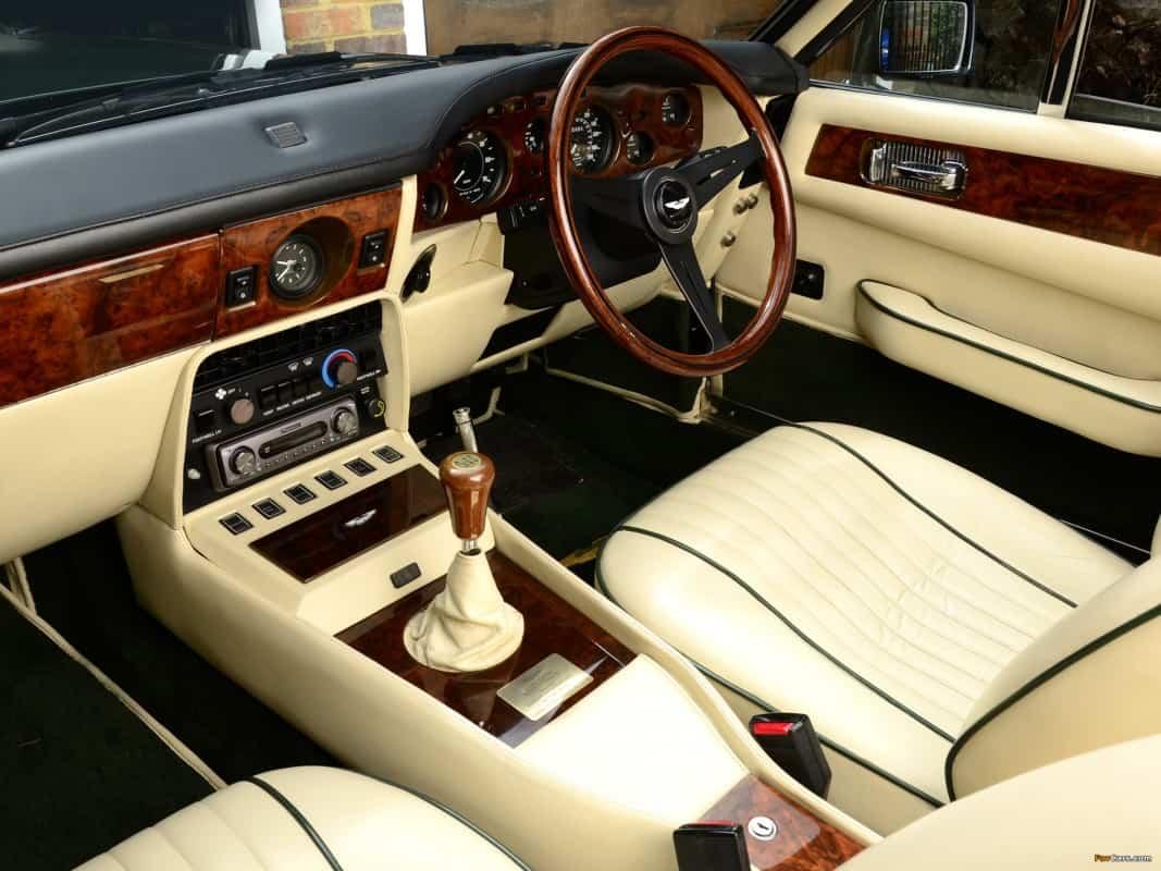 Aston Martin V 8 Vantage 1977 1989 De Novo Autoentusiastas