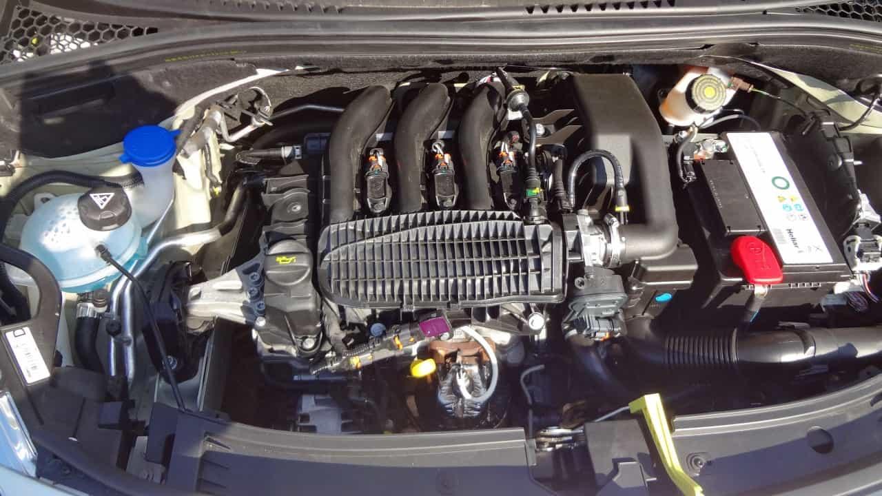 Motor tricilindrico: economia e elasticidade