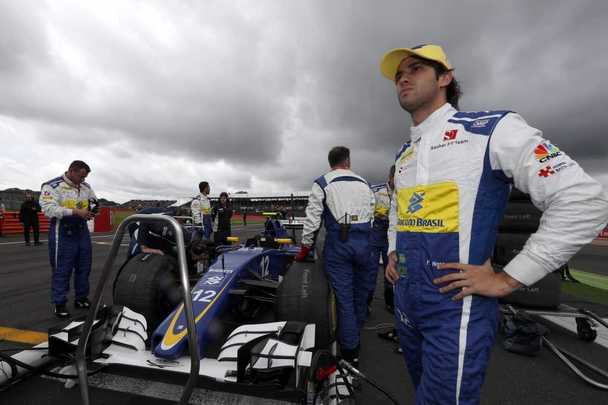 Atuação combativa de Felipe Nasr pode abrir horizontes para 2017 (Foto Sauber)